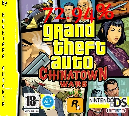 Thumbnail 1 for Grand theft Auto Chinatown Wars (E)[The Best Savegame] [72.94%][v.1.5]